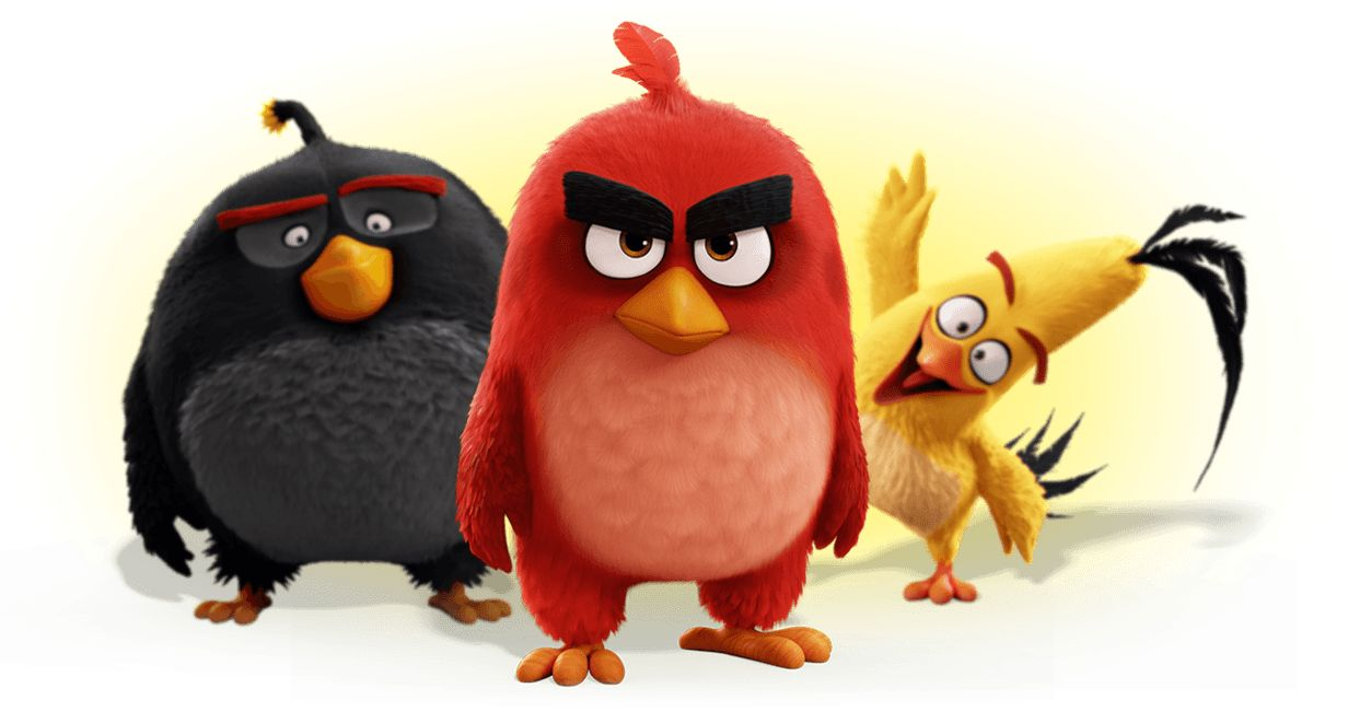 angry birds characters Cópia