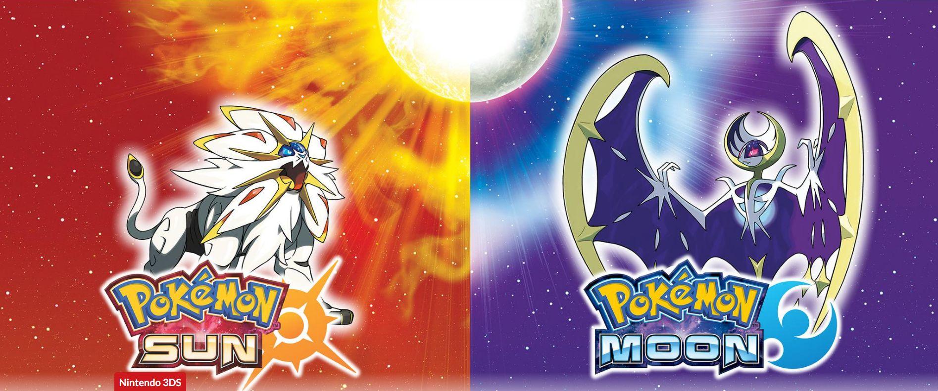 pokemon sun moon nintendo
