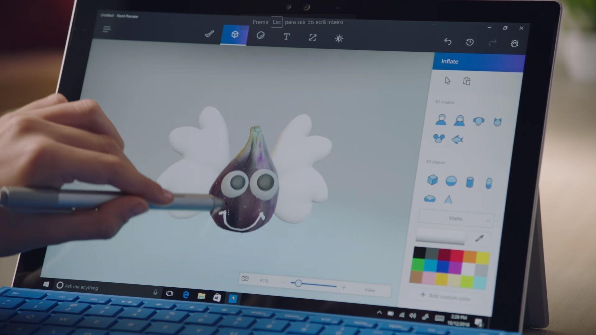 Windows 10 Creators Edition 3D