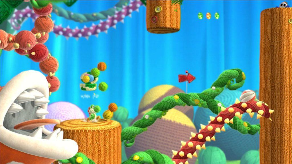 Yoshi Wooly World - Nintendo Wii U
