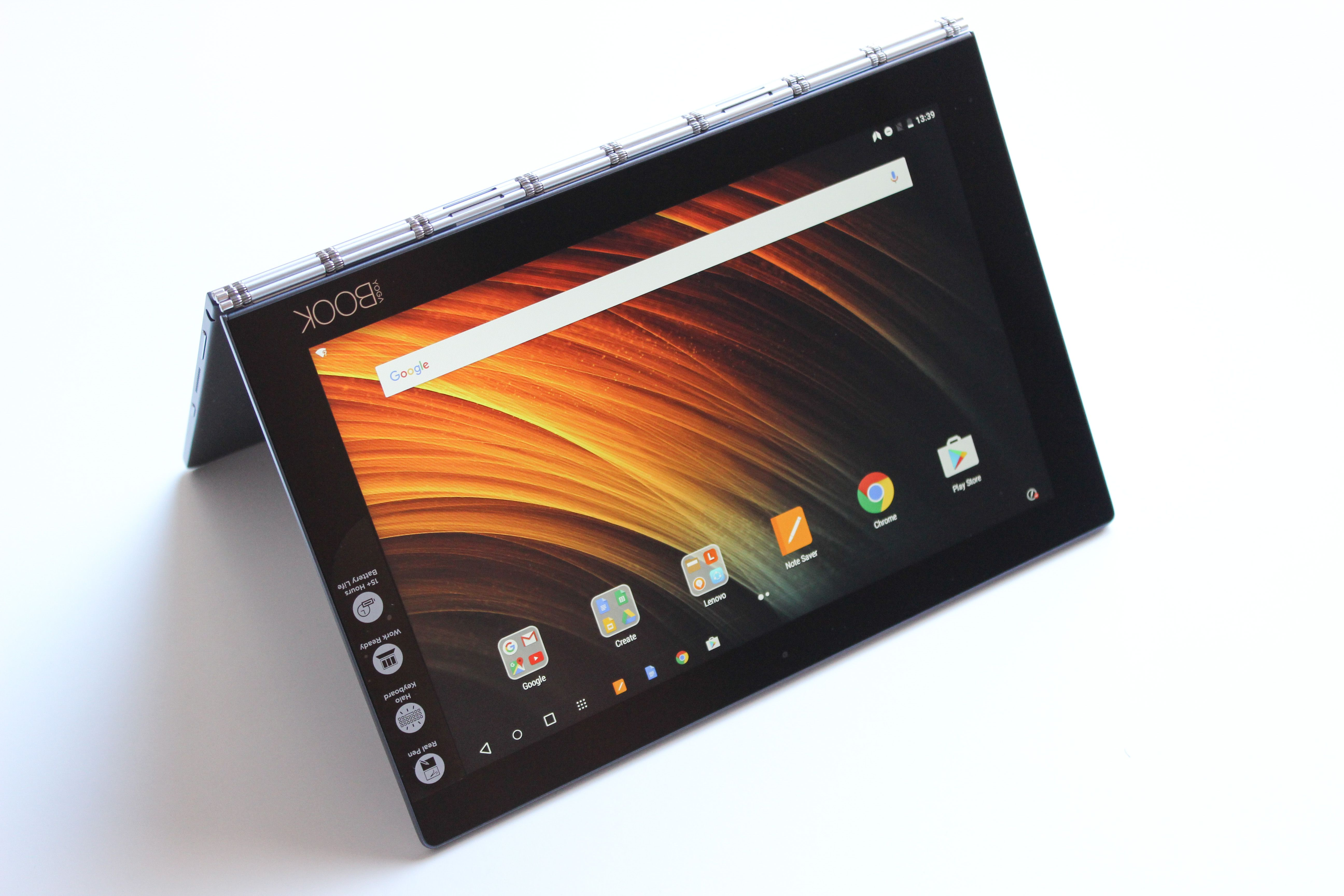 Análise Review Lenovo Yoga Book Android