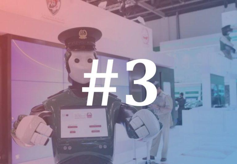 Polícia-robô Dubai