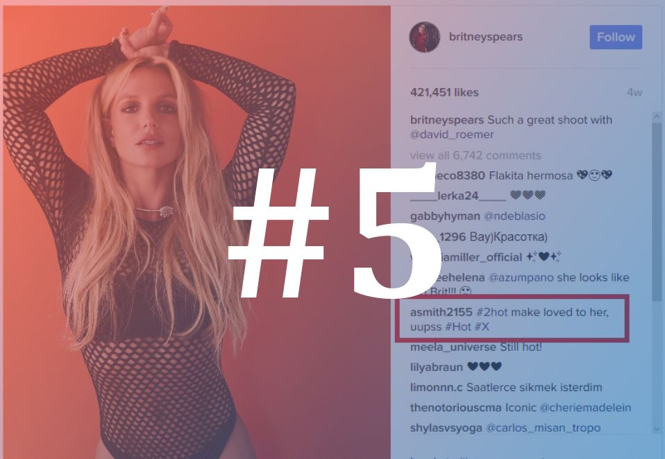 ESET Instagram Britney Spears