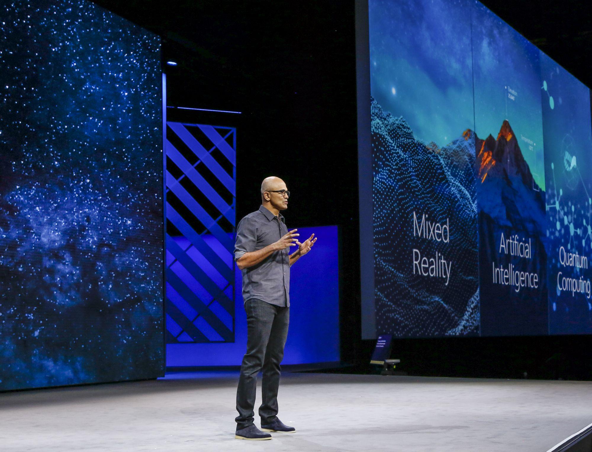 Satya Nadella Microsoft