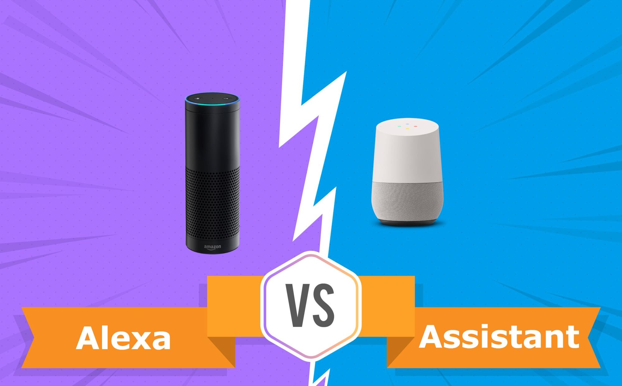 Alexa Google Assistant