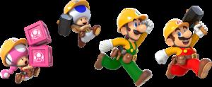 SuperMarioMaker2 PlayYourWay characters image950w