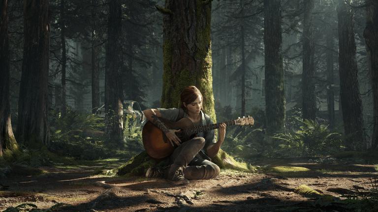 The Last of Us II art cover