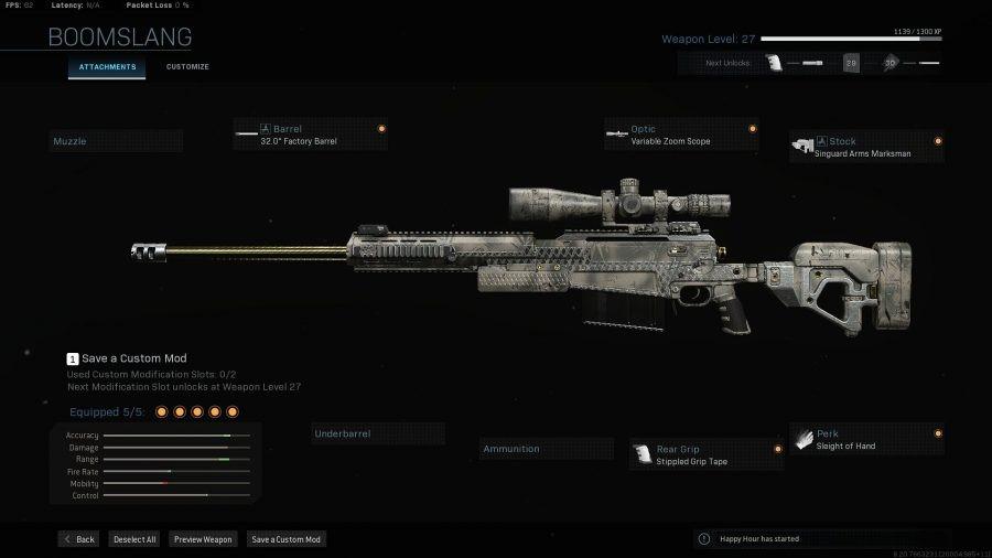 Armas COD Warzone