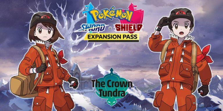Pokémon Sword Shield The Crown Tundra