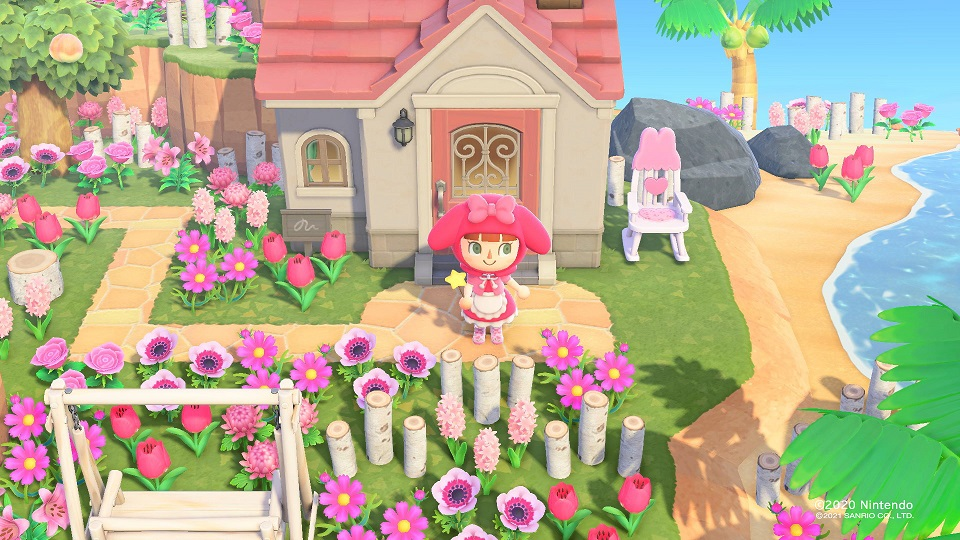 Animal Crossing Sanrio Collaboration pack