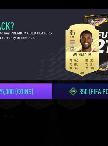 FIFA 21 Ultimate Team Preview Pack